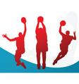 slam dunk vector image vector image