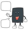 smartphone cartoon vector image