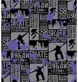 Urban Skateboarding vector image
