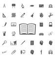 icon book vector image