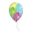 isolated balloon icon vector image