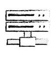 figure data network swich uplink trunk vector image vector image
