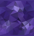 abstract polygonal square background ultra violet vector image vector image