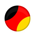 empty germany campaign button vector image