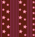 Funky Stars Pattern vector image