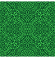 Green floral seamless wallpaper pattern vector image vector image