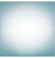 Light blue snow background vector image vector image