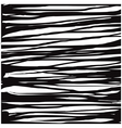 liquid organic black stripe lines pattern over whi vector image vector image
