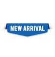 modern new arrival banner label for web shop