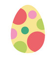 paschal easter egg vector image vector image