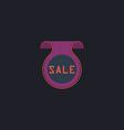 Sale computer symbol vector image