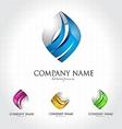 Business Corporate Logo Design vector image