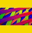 abstract background of interwoven stripes vector image vector image