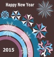 New year 2015 card vector image vector image