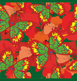 pattern with butterflies and flowers vector image vector image