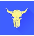 Skull of Bull Icon vector image