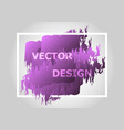 abstract background with purple gradient vector image vector image