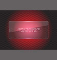 abstract red glass banner circle mesh modern vector image