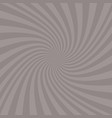 abstract spiral ray background vector image vector image