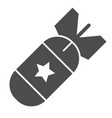air bomb solid icon nuclear bomb