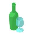 aperitif icon isometric style