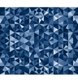 Blue Seamless Triangle Abstract Background vector image vector image