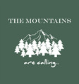 Camping and outdoor adventure logo vector image
