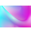 colorful curved abstract gradient background vector image vector image