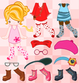 Dress up cute look vector image vector image