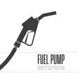 fuel pump icon vector image vector image