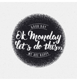 Ok monday let is do this print vector image