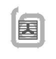 ventilation vector image vector image