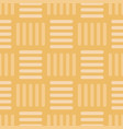 vintage gold basketweave seamless pattern vector image