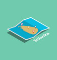 explore sri lanka maps with isometric style and vector image