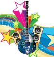 Funky guitar vector | Price: 1 Credit (USD $1)