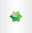 green leaves clip art icon eco symbol vector image