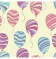 hand drawn balloons vector image vector image