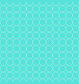 seamless pattern white circle flat vector image vector image