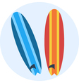 Surf vector image vector image