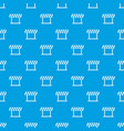 traffic prohibition sign pattern seamless blue vector image vector image