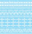 Tribal geometric aztec pattern - grunge retro vector image