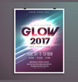 2017 new year party flyer brochure template with