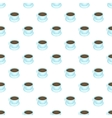 Coffee cup pattern cartoon style vector image vector image