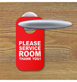 Do Not Disturb Sign vector image vector image