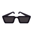 fashion sunglasses symbol vector image