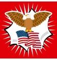 united states emblem vector image