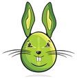 zeka jaje zeleni resize vector image vector image