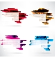 Abstract background with speech bubble vector image vector image