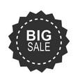 black friday sale special offer dark sticker vector image vector image