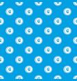 coins cruzeiro pattern seamless blue vector image vector image